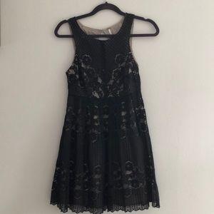 Free people lace backless dress
